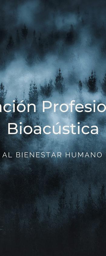 BioAcústica  Aplicada al bienestar humano y animal  NIVEL I – Pago único